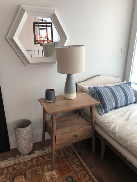 Custom Millwork - Custom Woodwork - Bedside Table