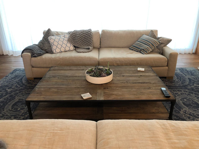 Custom Millwork - Custom Woodwork - Coffee Table