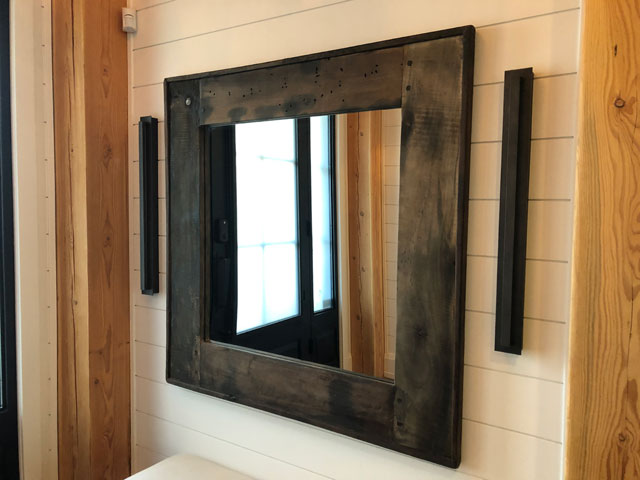 Custom Millwork - Custom Woodwork - Mirror