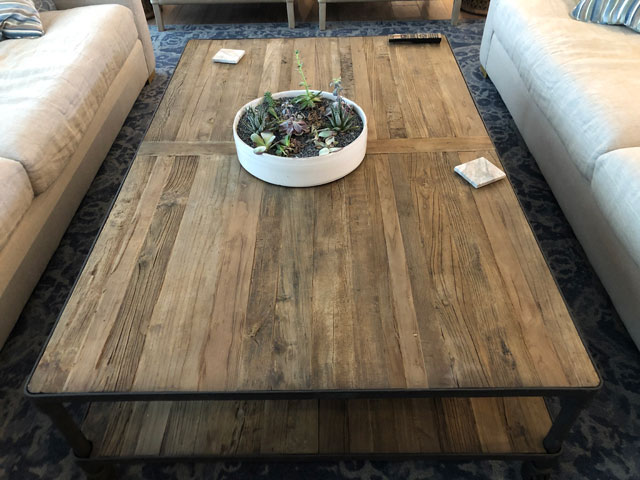 Custom Millwork - Custom Woodwork - Two Layer Coffee Table
